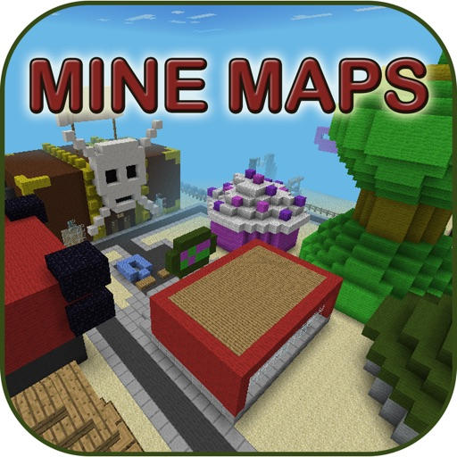MineMaps for MCPE - Maps for Minecraft PE