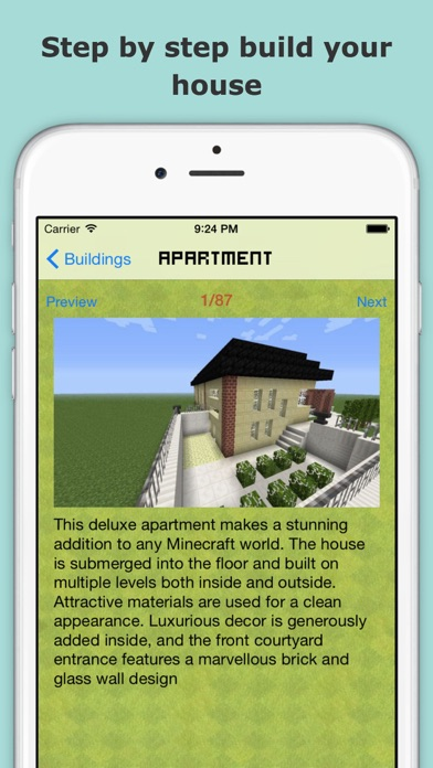 ... Screenshot #8 For House Ideas Guide For Minecraft   Step By Step Build  Your Home ...