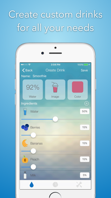 iHydrate -Daily Water Tracker & Hydration Reminderのおすすめ画像4