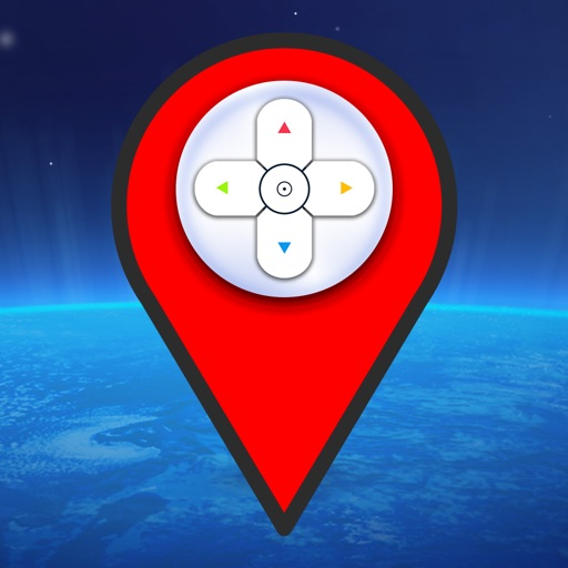 Joystick Map for Pokemon Go