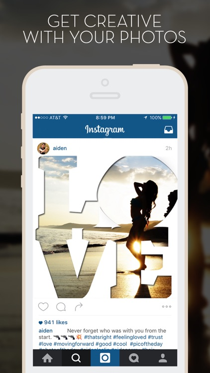 LetterFX Pro - Word Frames for Photos (Instagram edition) screenshot-0