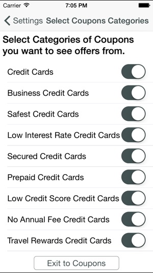 Credit card coupons bank coupons on the app store colourmoves