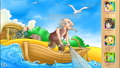 The Fisherman and the Goldfish - iBigtoy screenshot three