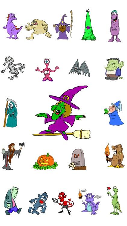 Halloween Monster Pack screenshot-4