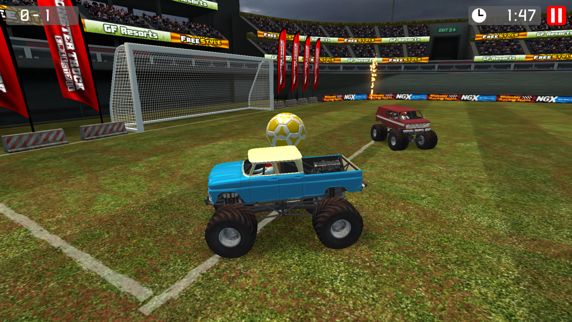 Monster Truck Soccer screenshot 12