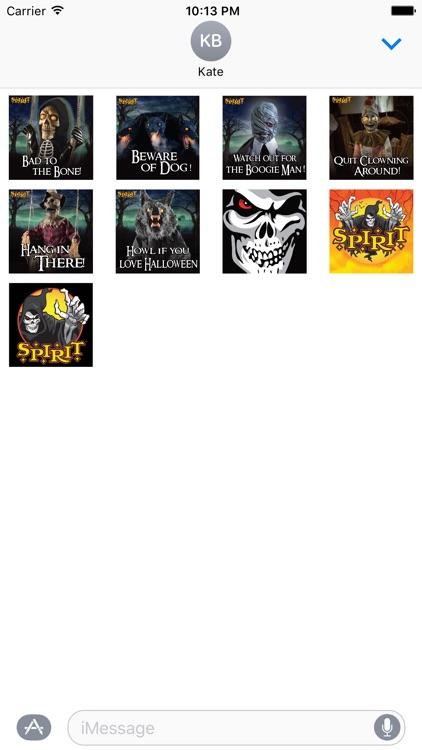 Spirit Halloween Stickers