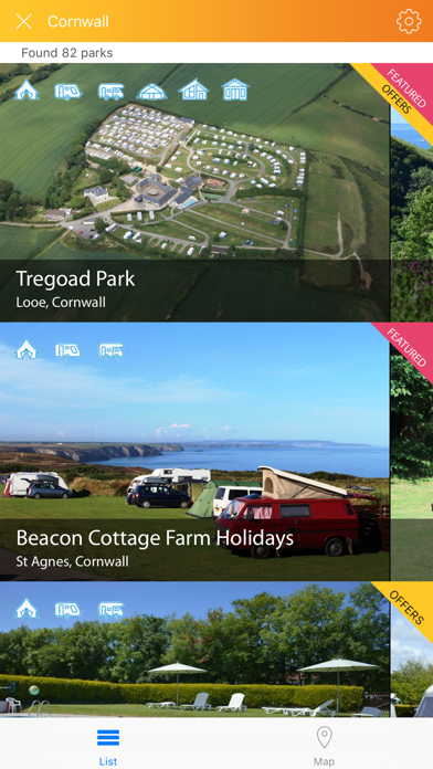 Campmate from Campsites.co.uk screenshot two