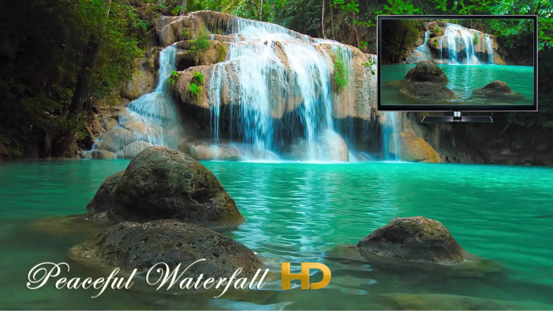 Peaceful Waterfall HD screenshot 9