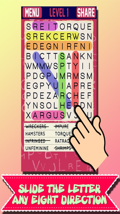 Word Search Puzzle v9.0 screenshot-4