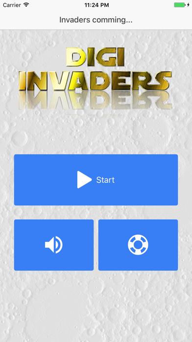Digi Invaders screenshot two