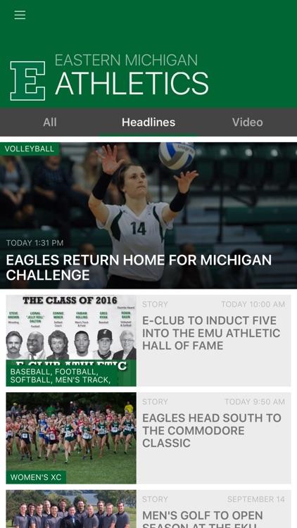 Eastern Michigan Eagles