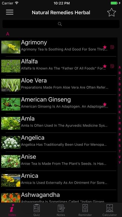 Natural Remedies Herbal