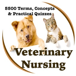Veterinary Nursing -5500 Flashcards, Terms, Concepts & Exam Prep