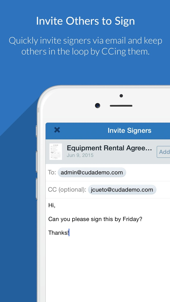 SignNow - Sign and Fill Docs Screenshot