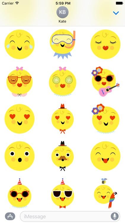 Emoji Pals - Skye stickers screenshot-3