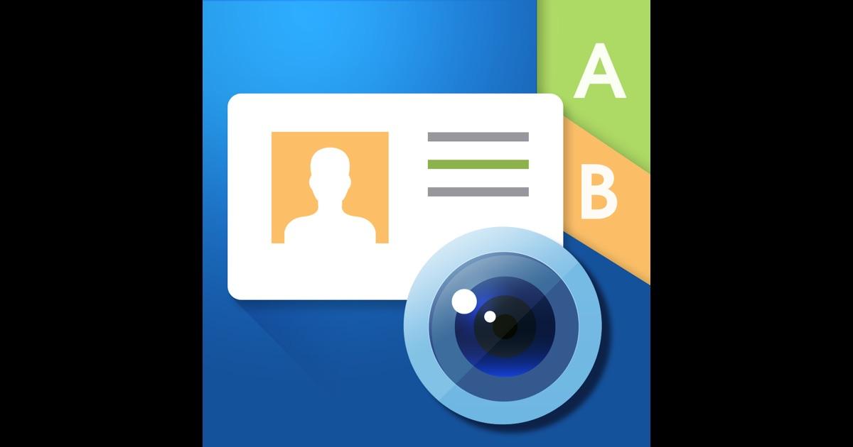 WorldCard Mobile Lite business card reader & business
