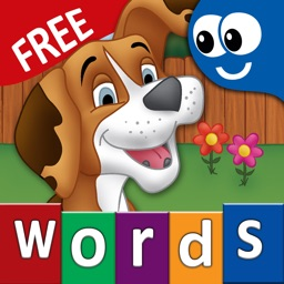 First Words for Kids and Toddlers Free: Preschool learning reading through letter recognition and spelling
