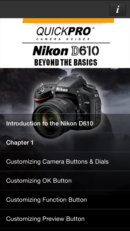 Nikon D610 Beyond the Basics by QuickPro HD
