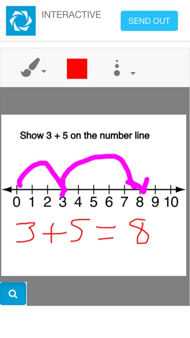 Answer Pad Screenshot