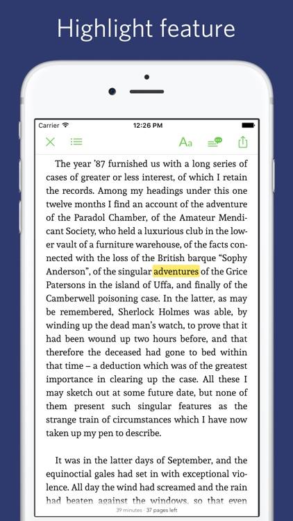 Sherlock Holmes - Read Aloud screenshot-3