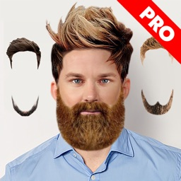 Hairstyle Changer ombre hair color changer fashion hairstyle makeover photo editor to try on fancy haircuts screenshot Hairstyle Changer Man Pro