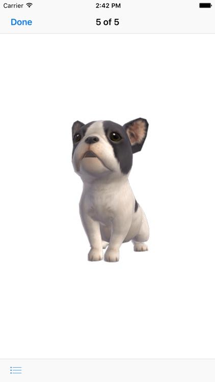 Bulldog - Animated Puppy Stickers screenshot-3