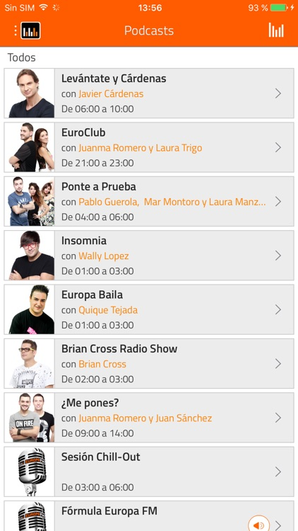 EuropaFM Radio screenshot-1