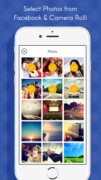 Photos to Gif maker- Social app photo to Gif Maker screenshot two