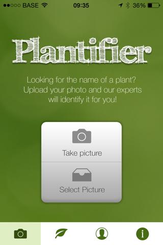 Plantifier - náhled