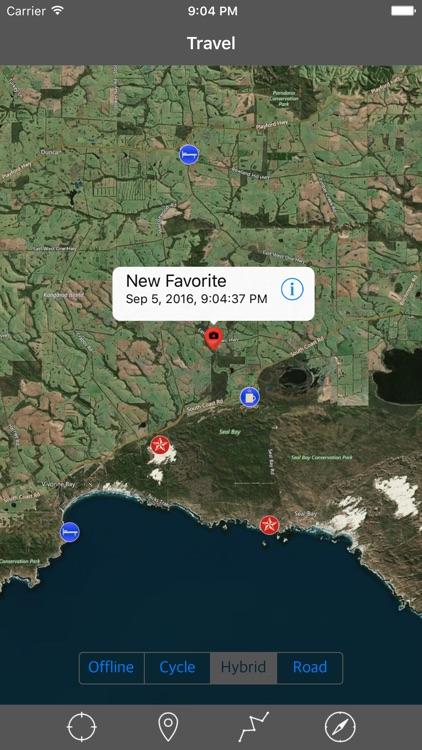 KANGAROO ISLAND (SOUTH AUSTRALIA) – GPS Travel Map