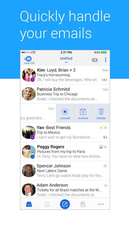 TypeApp - Email, Mail - IMAP & Exchange Mailbox screenshot-3