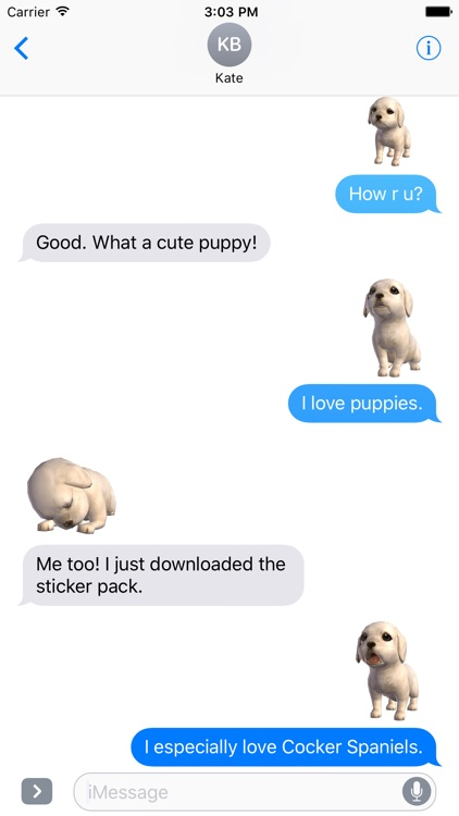Cocker Spaniel - Animated Stickers