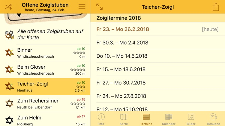 Zoigl-Kalender screenshot-9