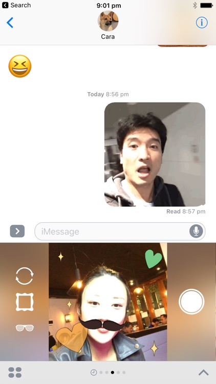 Sticker Booth : Animated GIF Stickers for iMessage screenshot-0