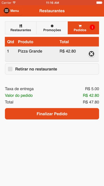 Exfood - Delivery de comida screenshot-4