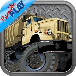 Trucks Puzzles Deluxe: Kids Trucks