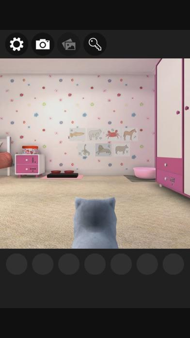 脱出ゲーム 謎解きにゃんこ5 ~小さな女の子の部屋~紹介画像1