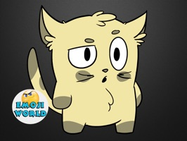 Emoji World: Sammy The Confused Cat
