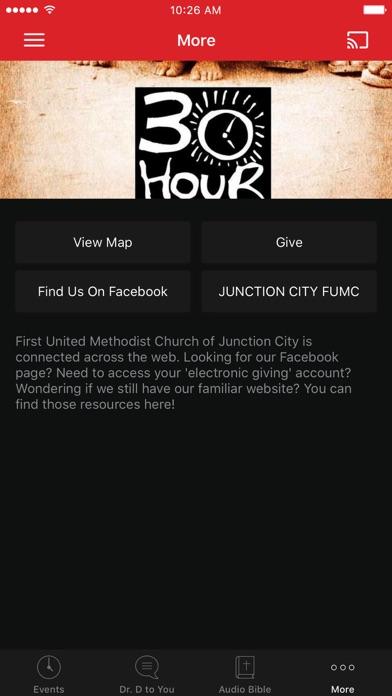 1st UMC, Junction City KS screenshot 3