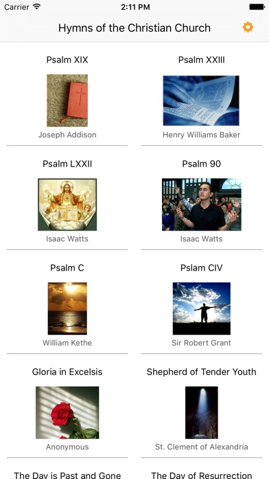 Hymns Of The Christian Church review screenshots