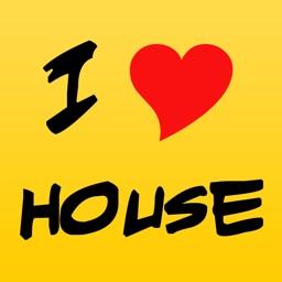 I love House - techno house music radio