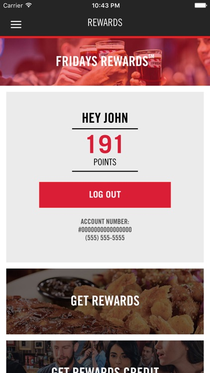 TGI Fridays screenshot-1