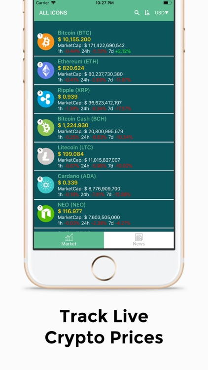 Crypto Crunch App