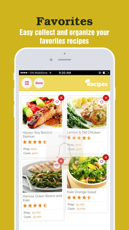 Yummy Heart Recipes Pro ~ Best recipes for heart screenshot-3