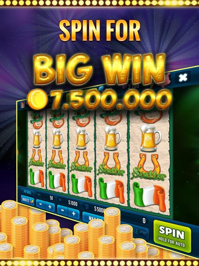 St.Patrick Slots with Jackpots Screenshot