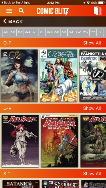 ComicBlitz - Unlimited Digital Comics! screenshot-2