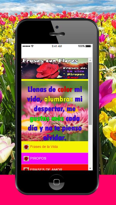Frases con Flores - Textos con Rosas: hermosas