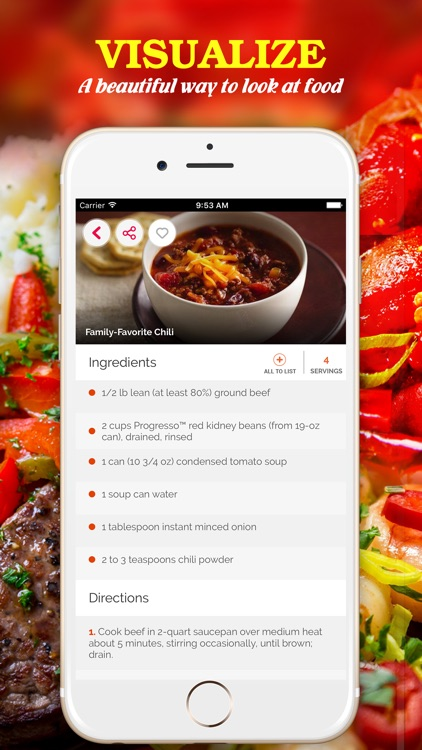 Yummy Chili Pro ~ Best of delicious chili recipes screenshot-1