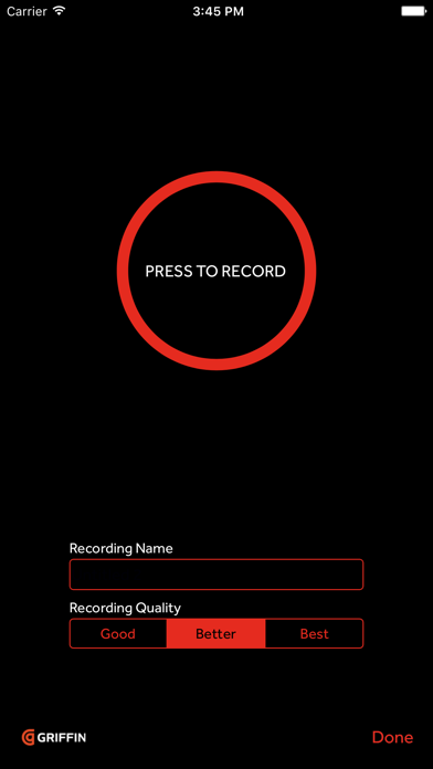 iTalk Recorder ScreenShot0