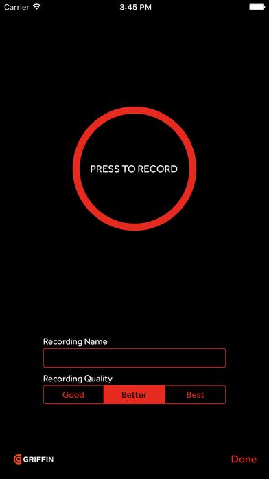 iTalk Recorder screenshot one